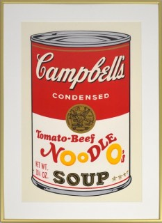CAMPBELL'S SOUP - exhibition II